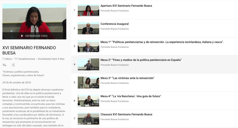 cromo videos seminario 2018